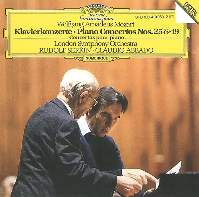 Claudio Abbado. Mozart. Piano Concerto No. 25 & 19