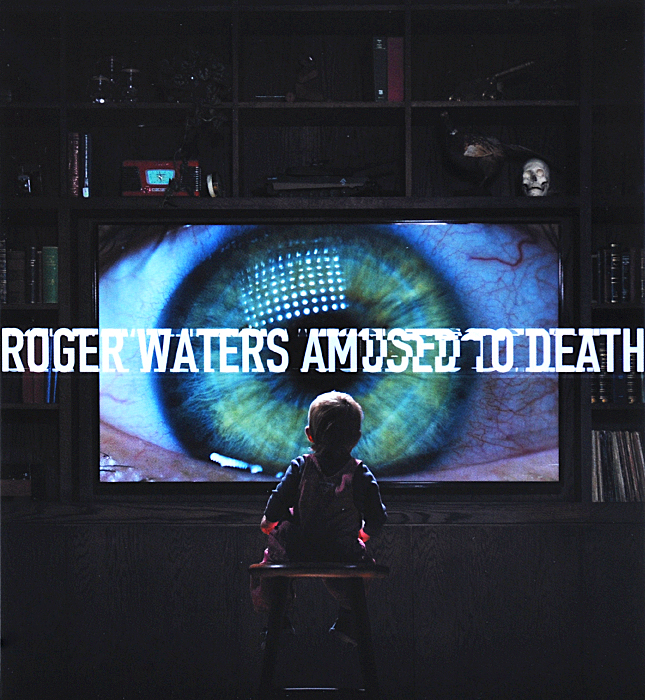 Роджер Уотерс Roger Waters. Amused To Death (CD + Blu-Ray Audio)