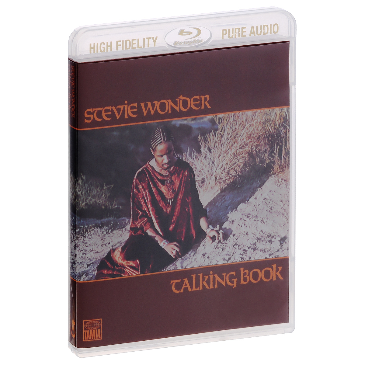 Стиви Уандер Stevie Wonder. Talking Book (Blu-Ray Audio)