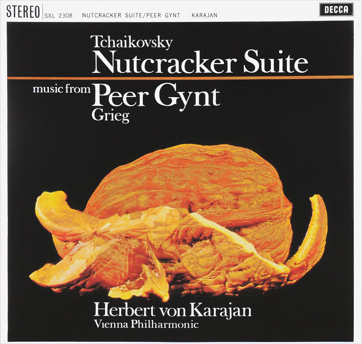 лучшая цена Герберт Караян,Vienna Philharmonic Orchestra Herbert Von Karajan. Tchaikovsky. Nutcracker Suite / Grieg. Peer Gynt (LP)