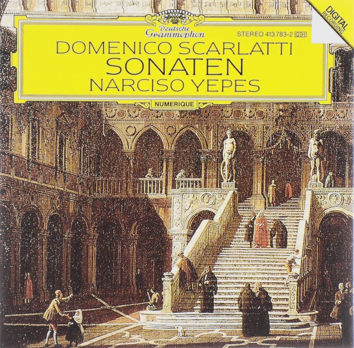 Фото - Нарцисо Йепес Narciso Yepes. Domenico Scarlatti. Sonaten narciso yepes joaquin rodrigo concierto de aranjuez fantasia