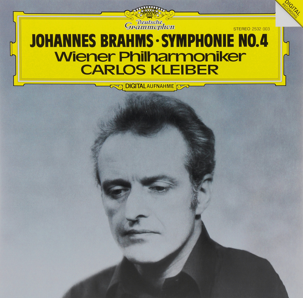 Карлос Кляйбер,Wiener Philharmoniker Carlos Kleiber. Johannes Brahms. Symphonie No. 4 (LP) carlos kleiber carlos kleiber complete orchestral recordings 4 lp box