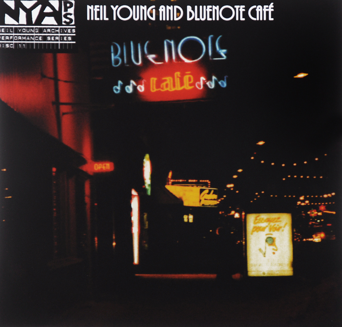 "Нил Янг,""The Bluenotes"" Neil Young And Bluenote. Bluenote Cafe (2 CD)"