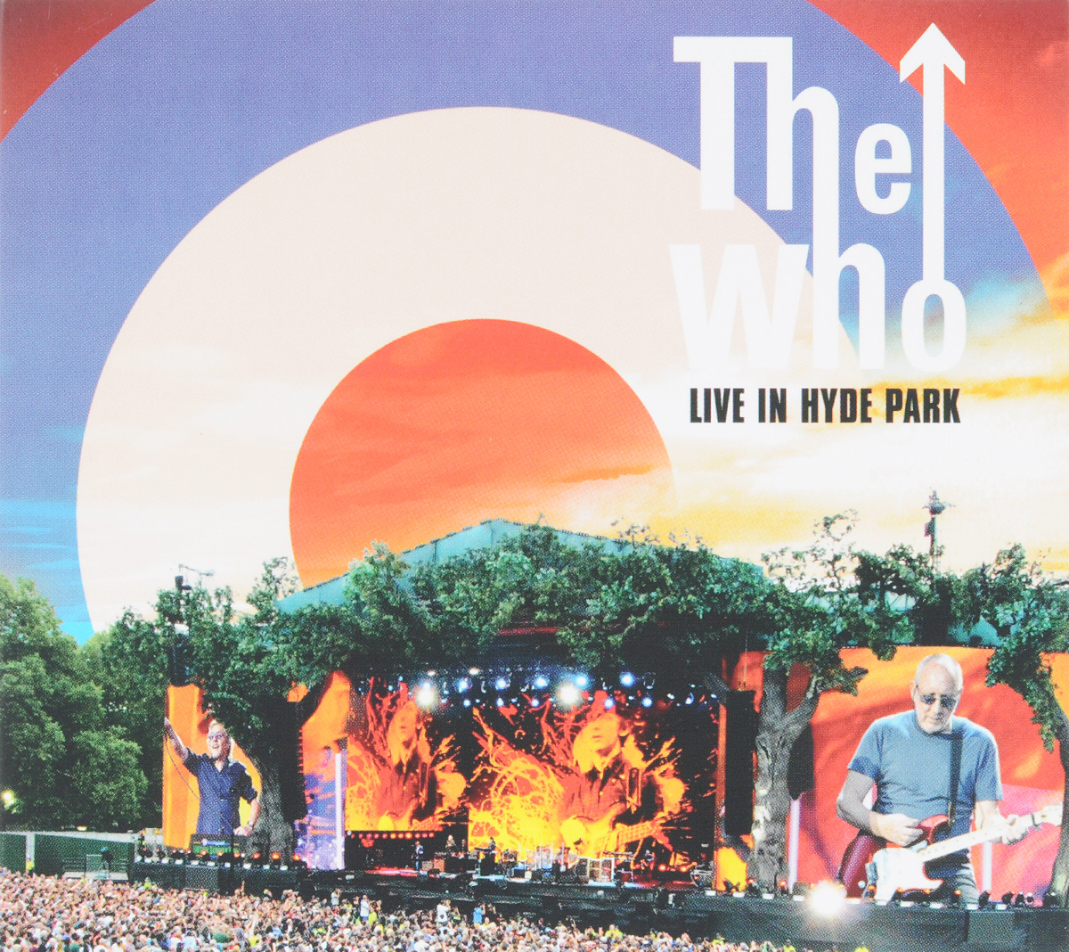 """""""The Who"""" The Who. Live At Hyde Park (2 CD + DVD)"""
