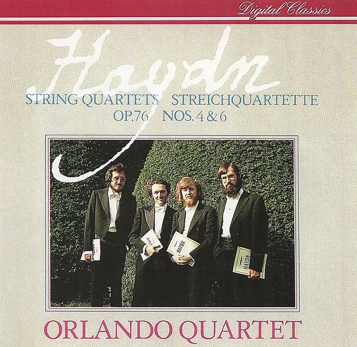 """""""Orlando Quartet"""" Orlando Quartet. Haydn. String Quartets, Op. 76 Nos. 4 & 6"""
