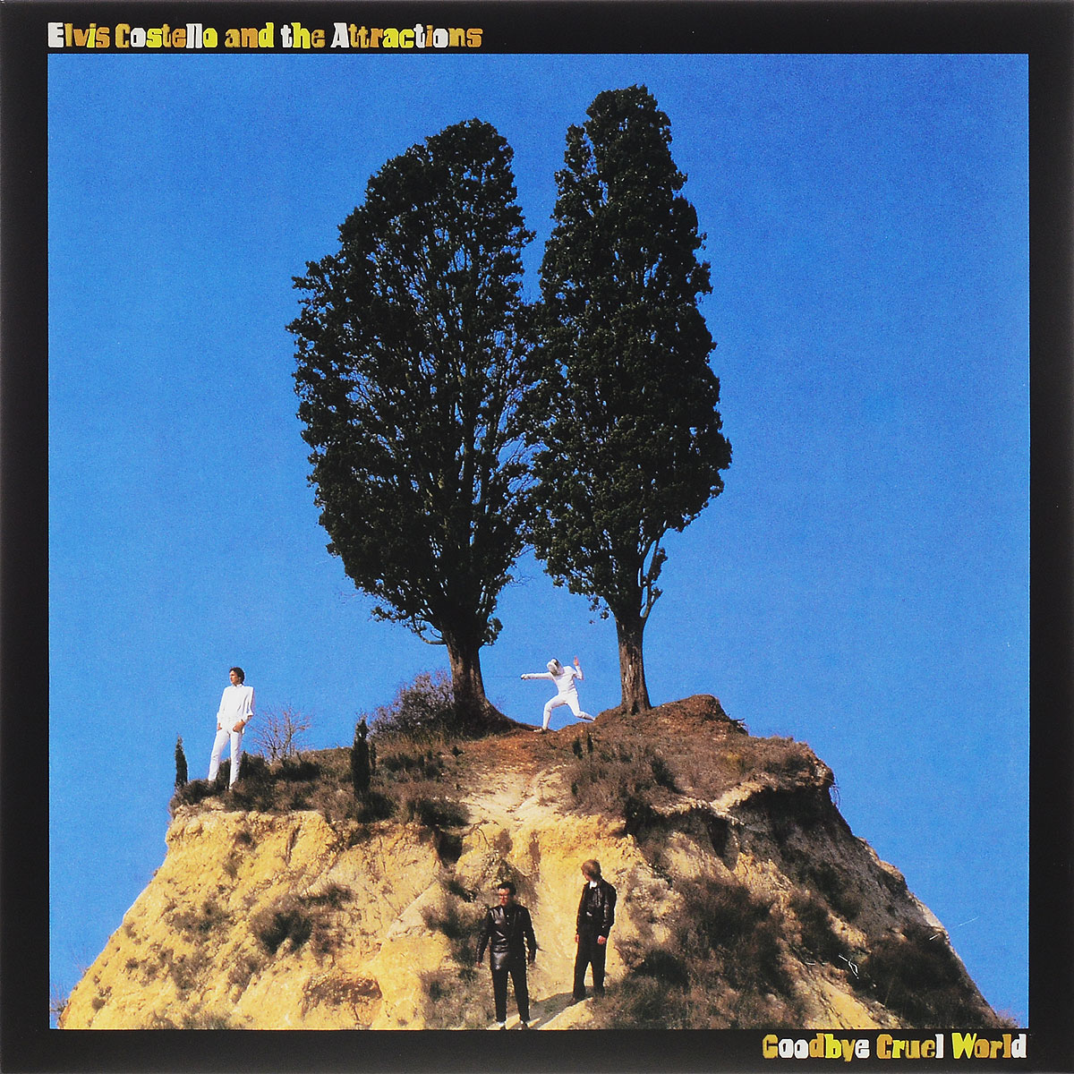 Элвис Костелло,The Attractions Elvis Costello And The Attractions. Goodbye Cruel World (LP) ben harper ben harper welcome to the cruel world lp 7