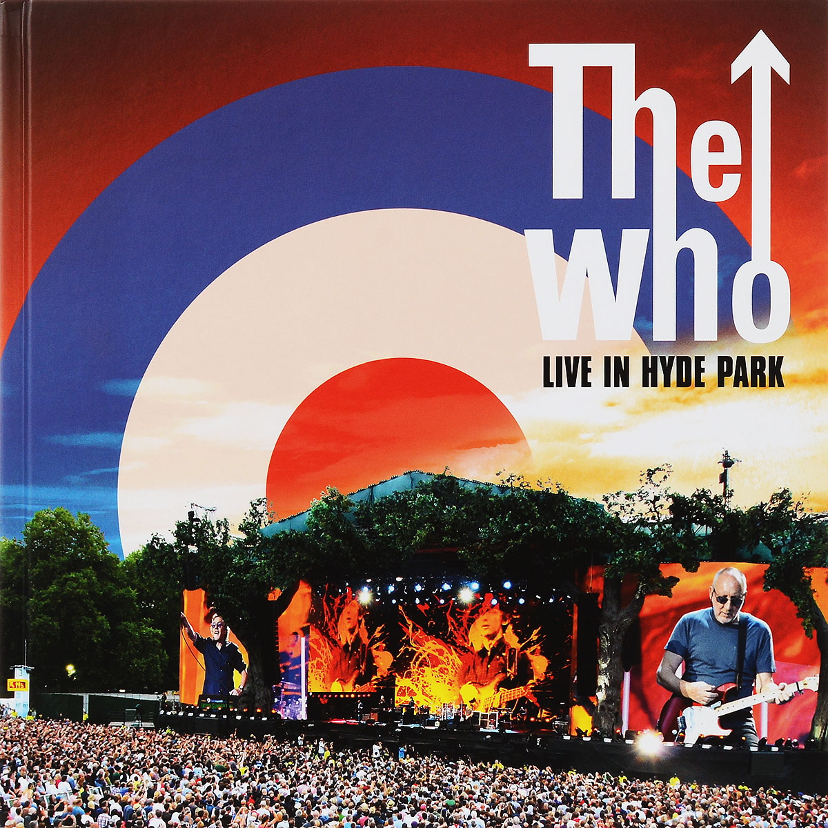 """The Who"" The Who. Live At Hyde Park (2 CD + DVD + Blu-ray)"