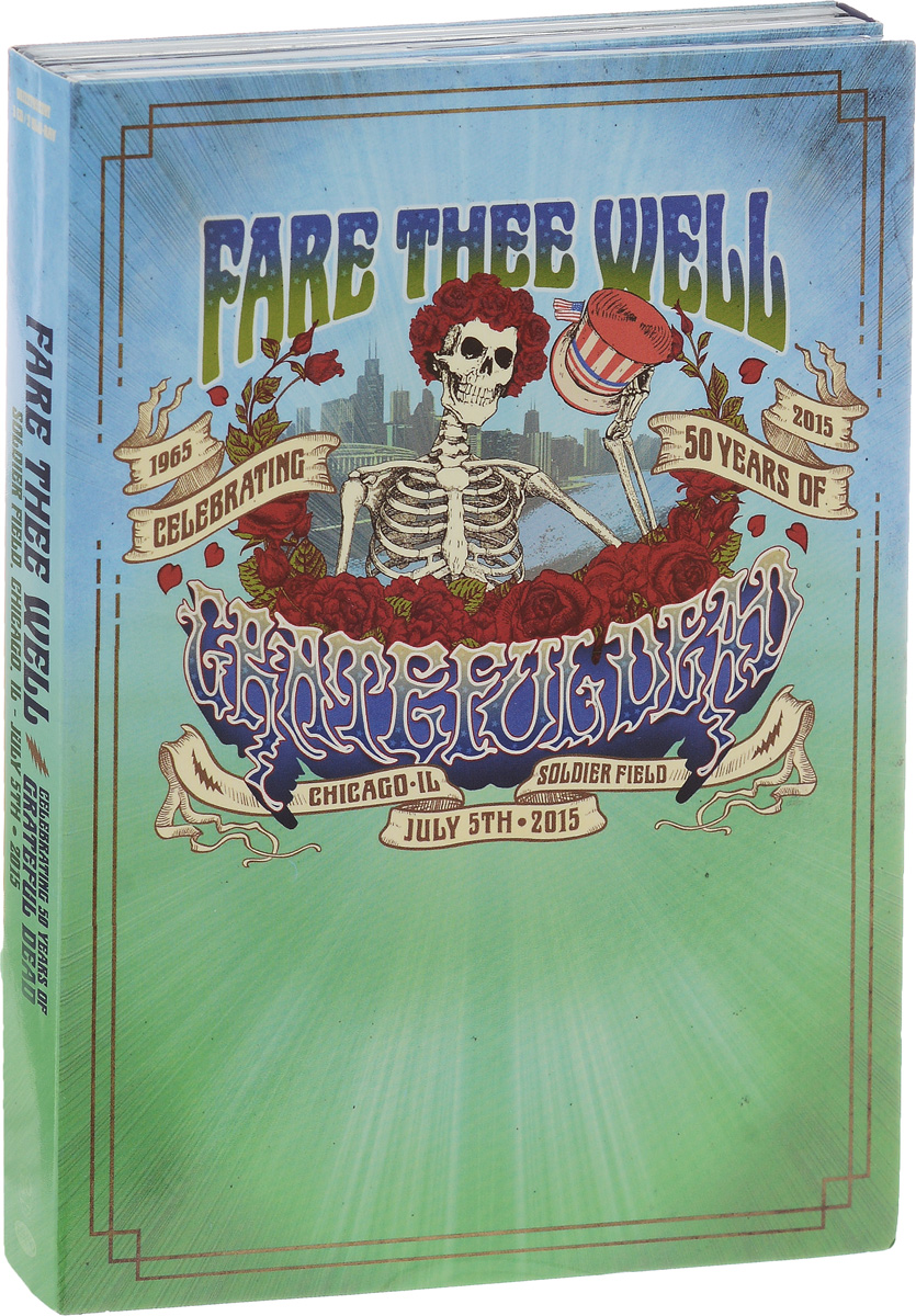 """The Grateful Dead"" Grateful Dead. Fare Thee Well Celebrating 50 Years Of Grateful Dead (3 CD + 2 Blu-ray)"