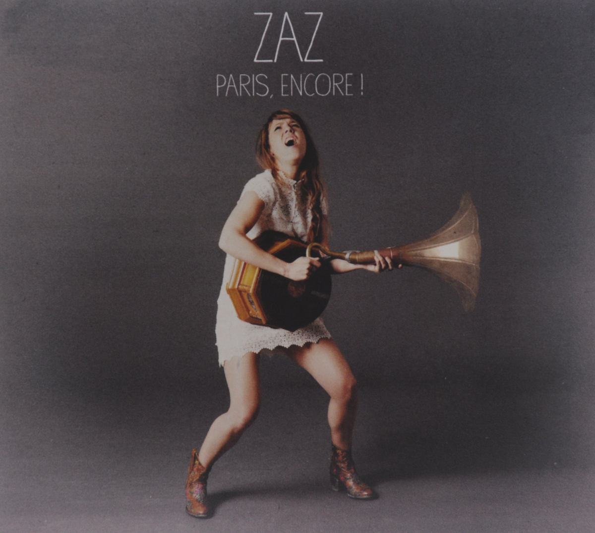 Zaz Zaz. Paris, Encore! (CD + DVD)