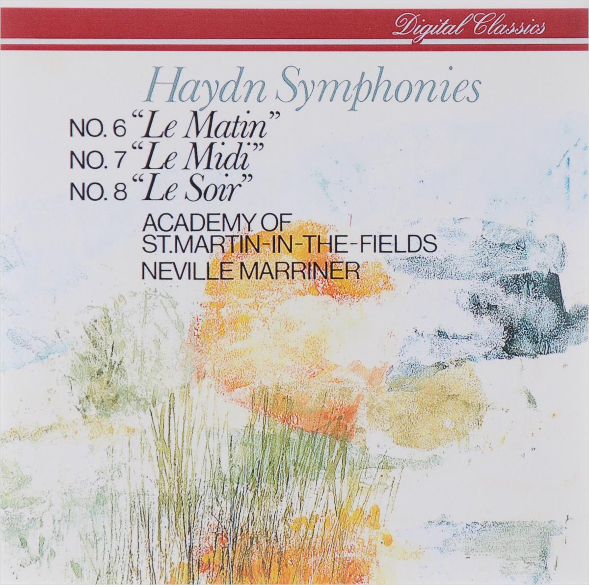 "Нэвилл Мерринер,Academy Of St. Martin In The Fields Neville Marriner. Haydn. Symphonies No. 6 ""Le Matin"" / 7 ""Le Midi"" / 8 ""Le Soir"""
