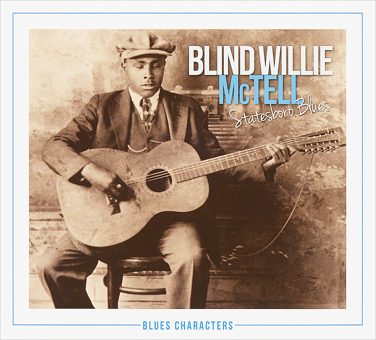 Блайнд Уилли Мактелл Blind Willie, MсTell. Statesboro Blues (2 CD)