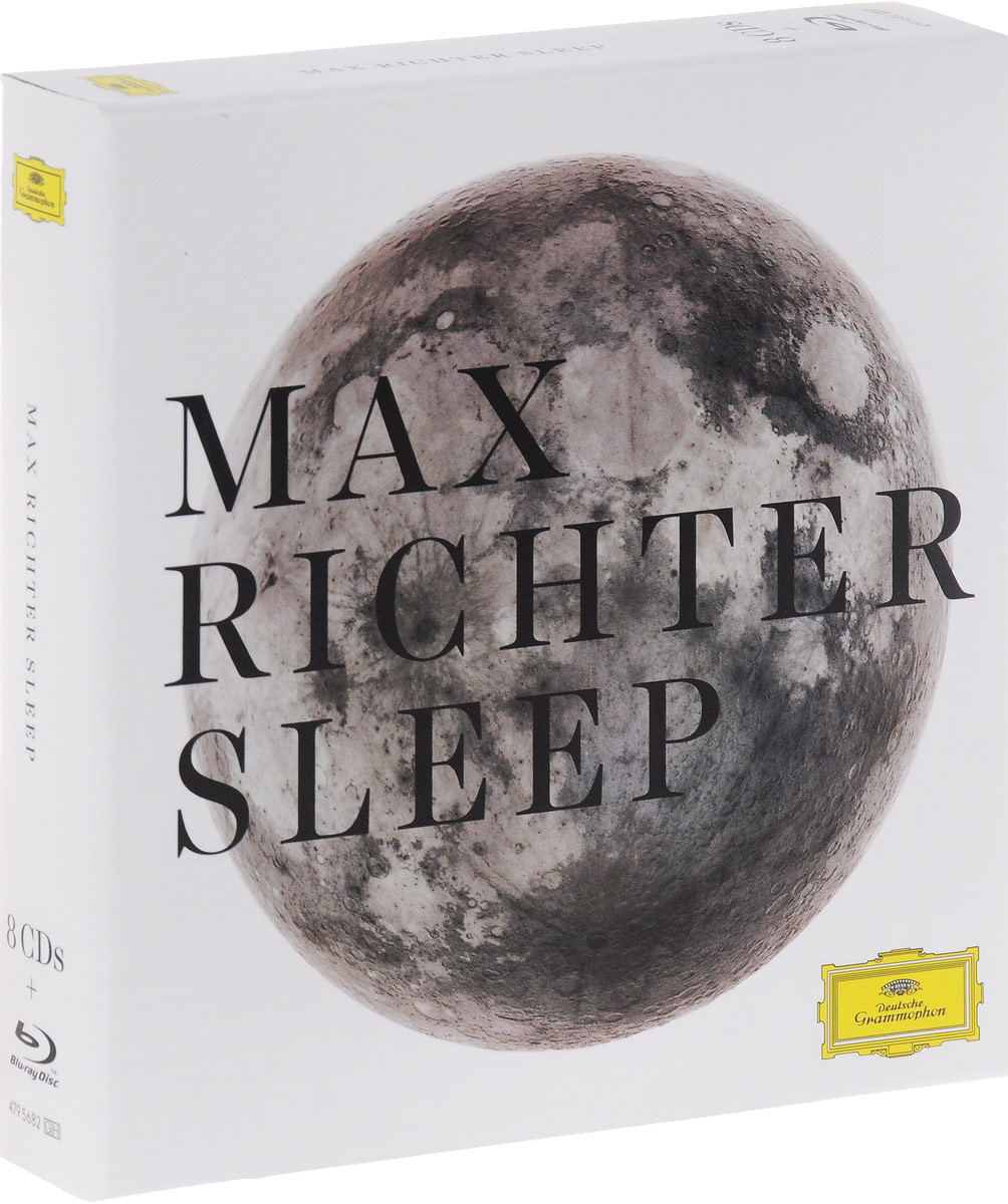 Макс Рихтер,Ben Russell,Yuki Numata Resnick,Caleb Burhans,Clarice Jensen,Brian Snow,Грейс Девидсон Max Richter. Sleep (8 CD + Blu-ray)