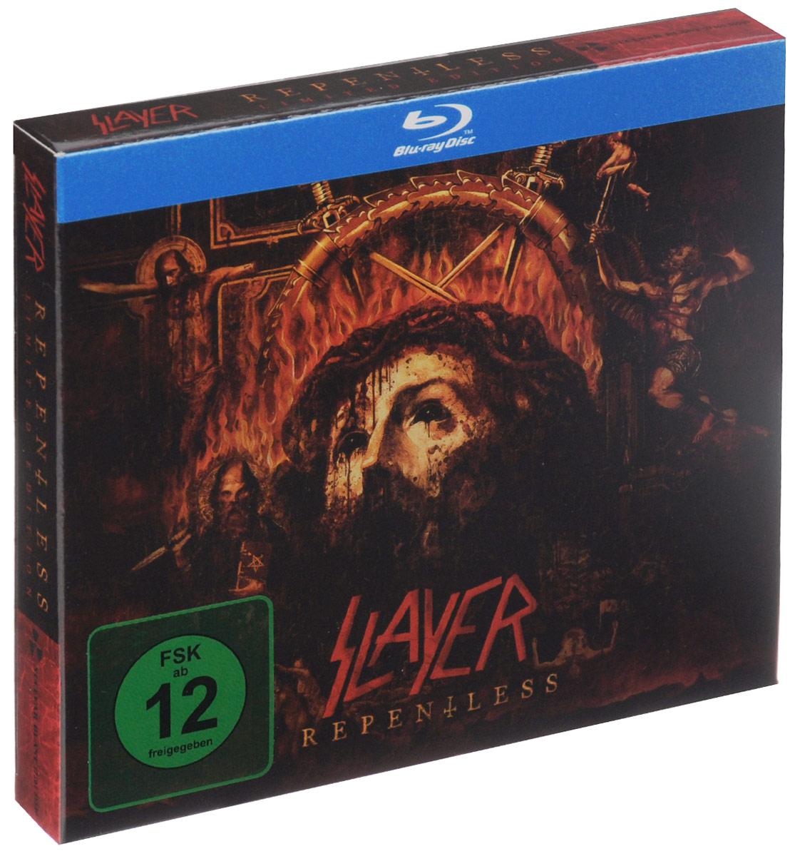 """Slayer"" Slayer. Repentless. Limited Edition (CD + Blu-ray)"