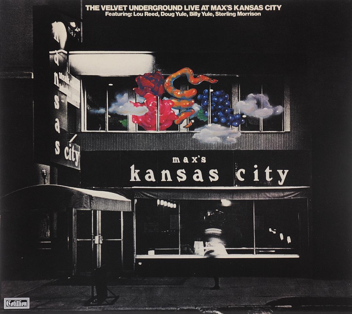 """""""The Velvet Underground"""" The Velvet Underground. Live At Max's Kansas City"""