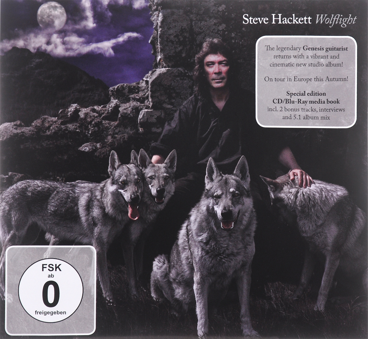 Стив Хэкетт Steve Hackett. Wolflight. Special Edition (CD + Blu-ray)