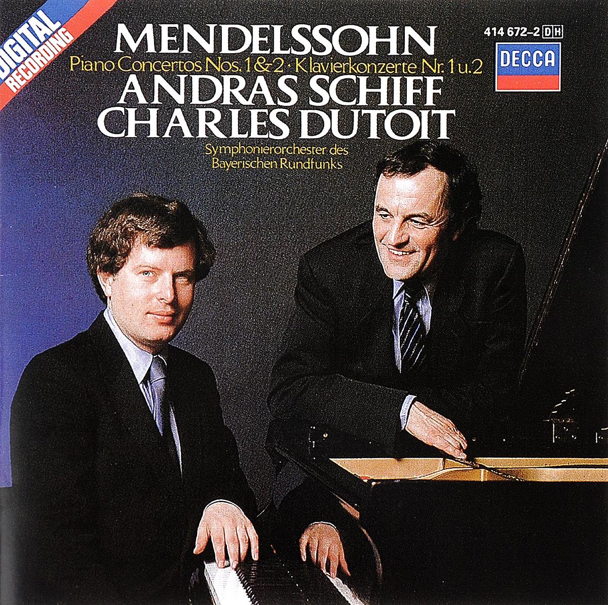 Андрас Шифф,Symphonie-Orchester Des Bayerischen Rundfunks,Шарль Дютуа Charles Dutoit. Mendelssohn. Piano Concertos Nos. 1 & 2
