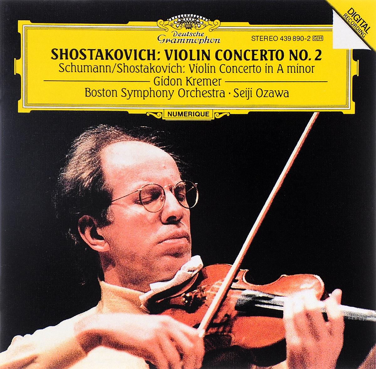 Boston Symphony Orchestra,Сейджи Озава Seiji Ozawa. Shostakovich. Concerto No. 2 Opus 129 / Schumann. Shostakovich. Concerto For Violin And Orchestra In A Minor