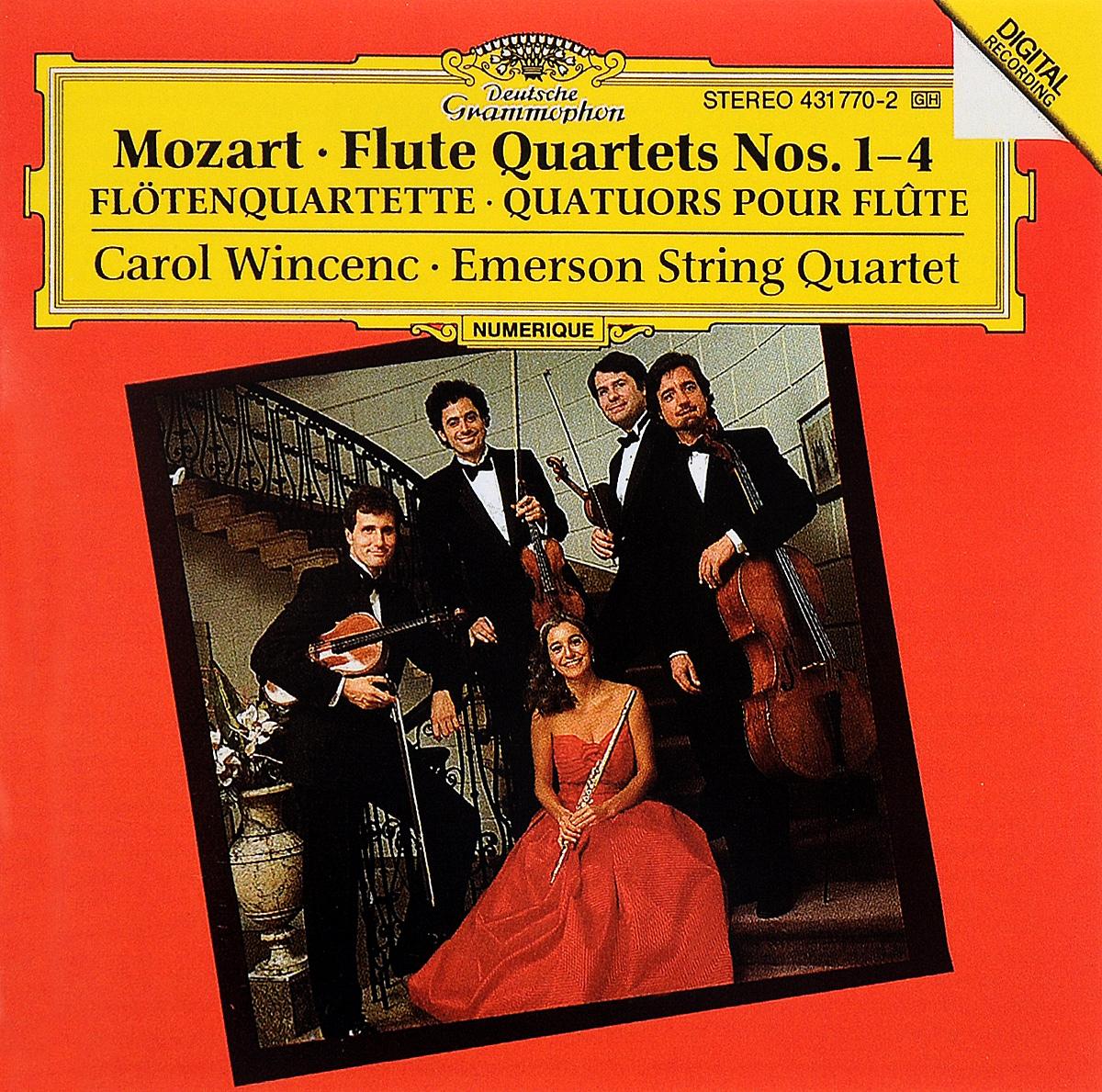 Carol Wincenc,Emerson String Quartet Carol Wincenc. Mozart. Flute Quartets Nos. 1-4 carol page 8