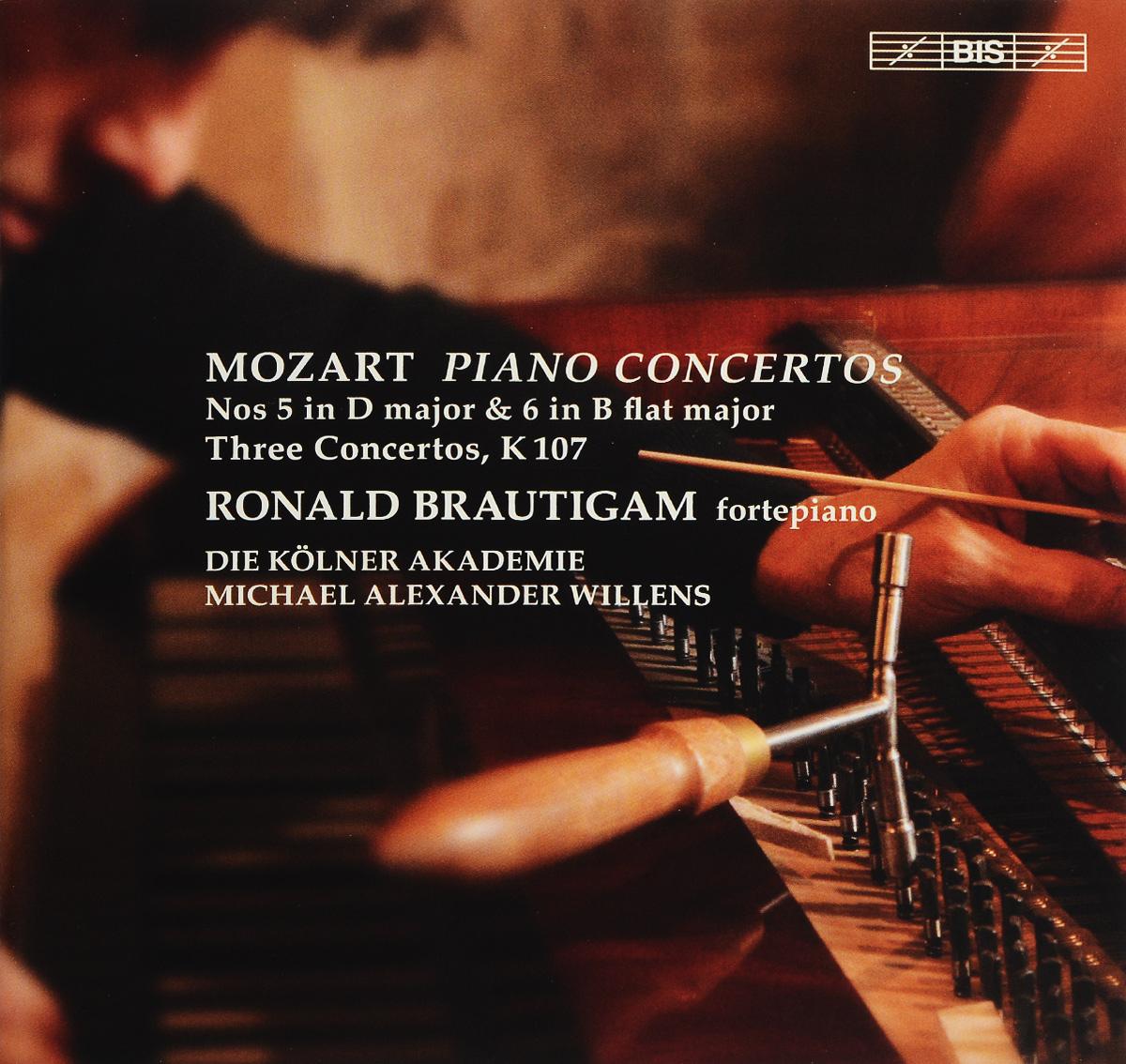 Роналд Броутайджем,Die Kolner Akademie,Майкл Александр Вилленс Ronald Brautigam. Mozart. Piano Concertos Nos 5 & 6 (SACD)
