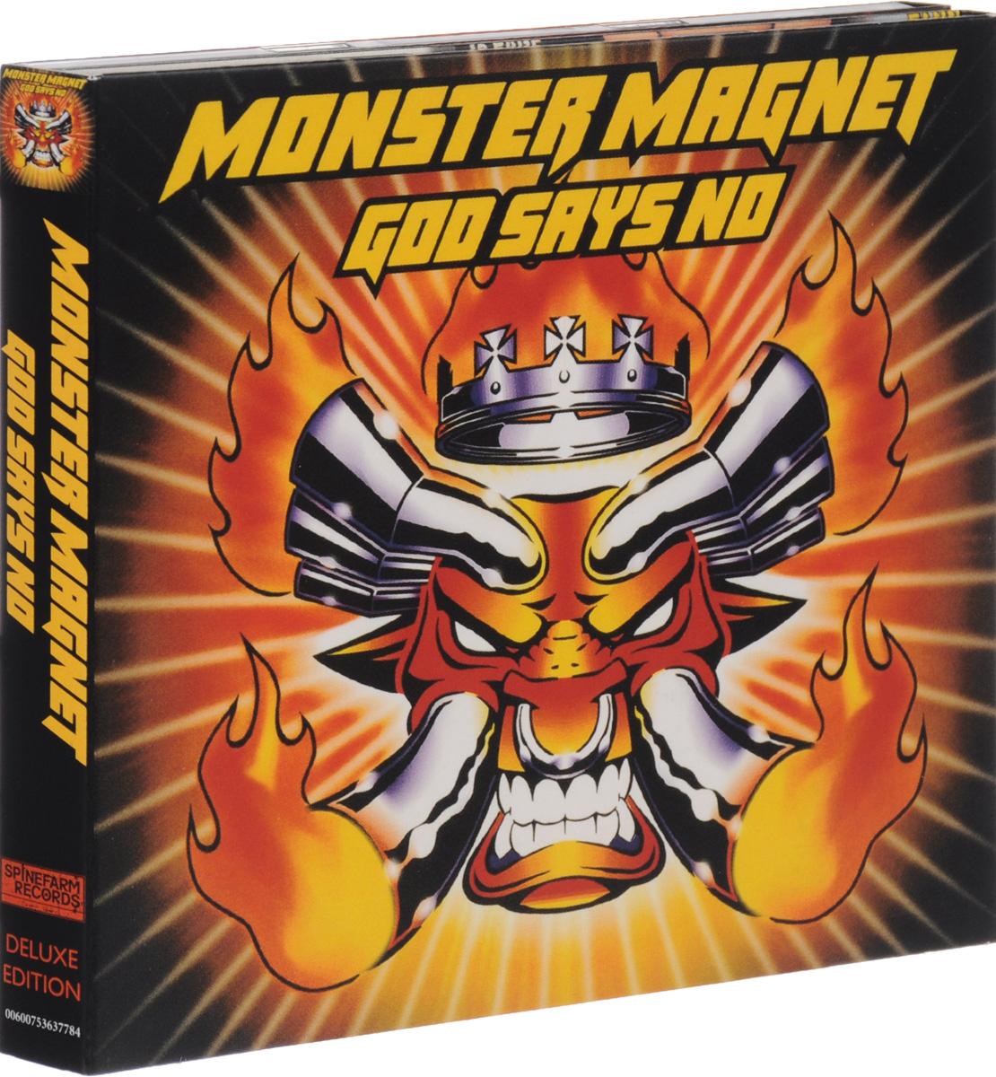 """Monster Magnet"" Monster Magnet. God Says No. Deluxe Edition (2 CD)"