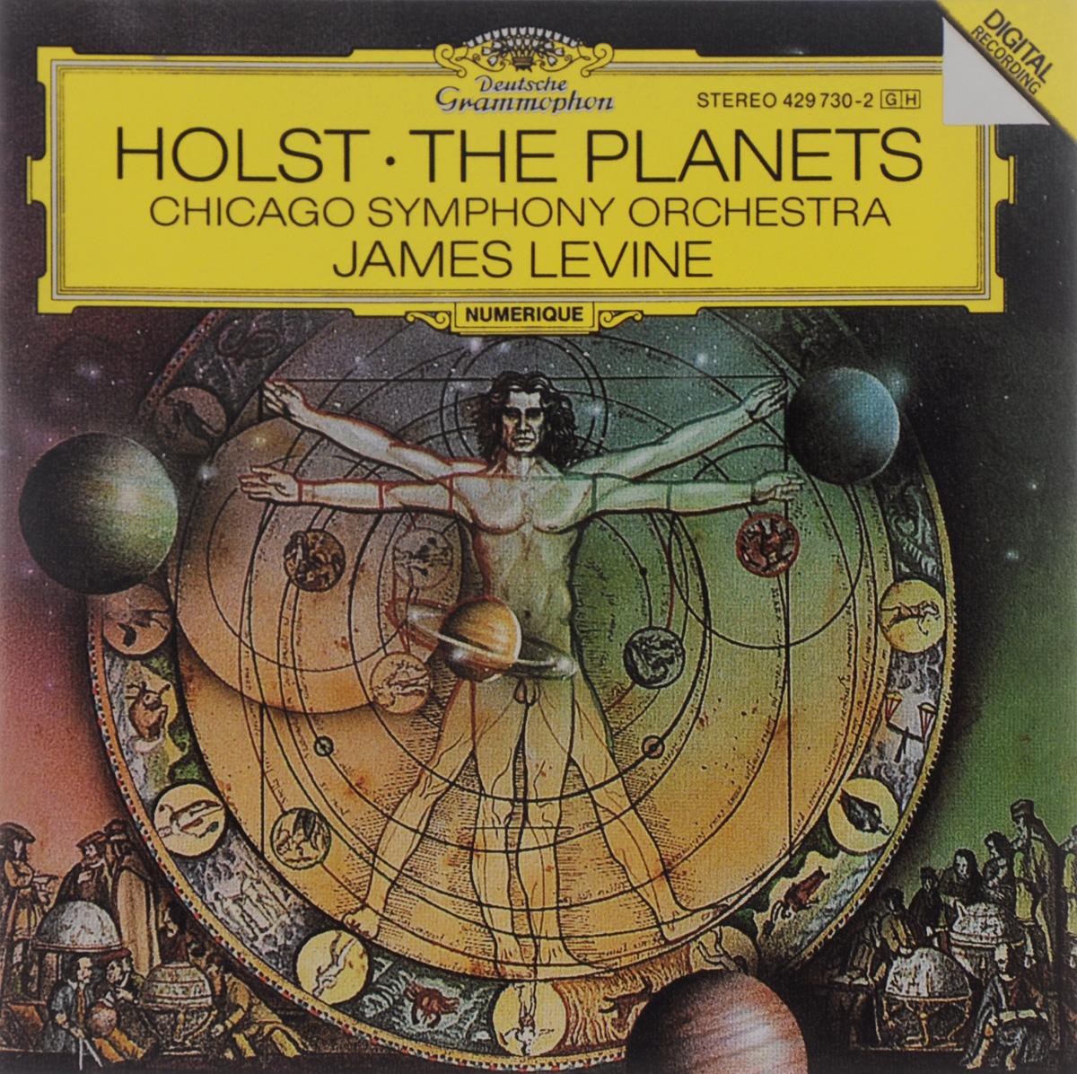 Chicago Symphony Orchestra & Chorus,Джеймс Левайн James Levine. Holst. The Planets bso silverstein holst planets strauss zarathus