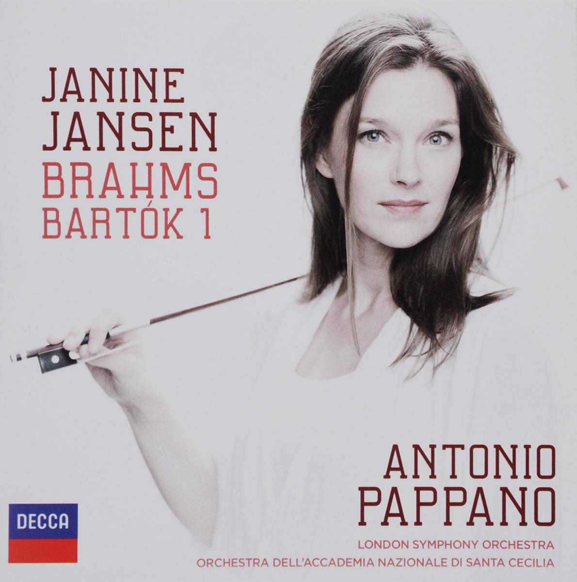 Дженин Дженсен,Orchestra Dell'Accademia Nazionale Di Santa Cecilia,The London Symphony Orchestra Antonio Pappano. Brahms. Violin Concerto / Bartok. Violin Concerto No. 1