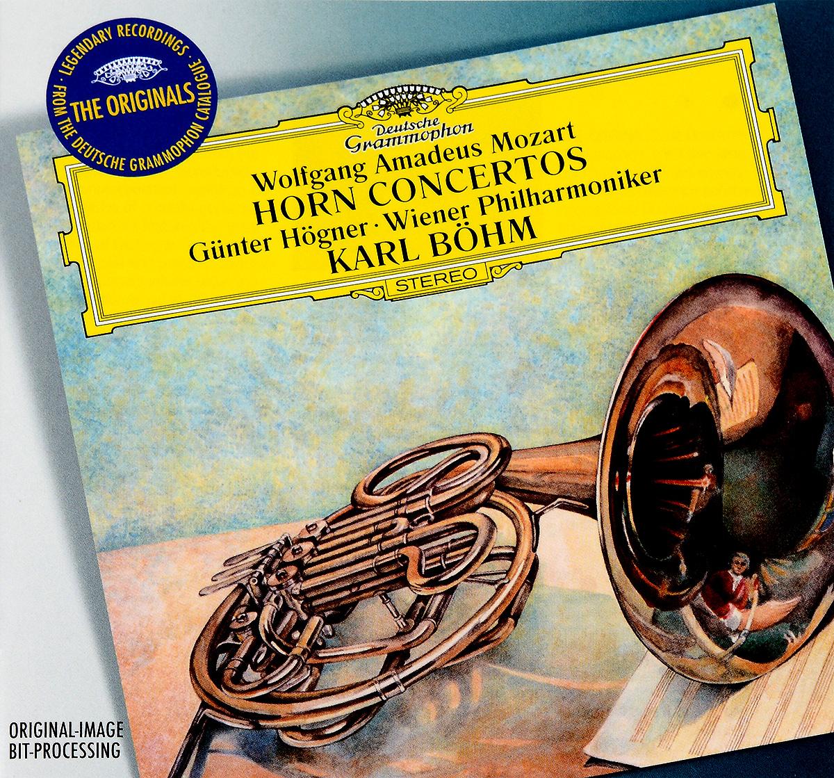 Гюнтер Хогнер,Wiener Philharmoniker Orchestra Mozart: Horn Concertos. Hogner. Wiener Philharmoniker. Bohm