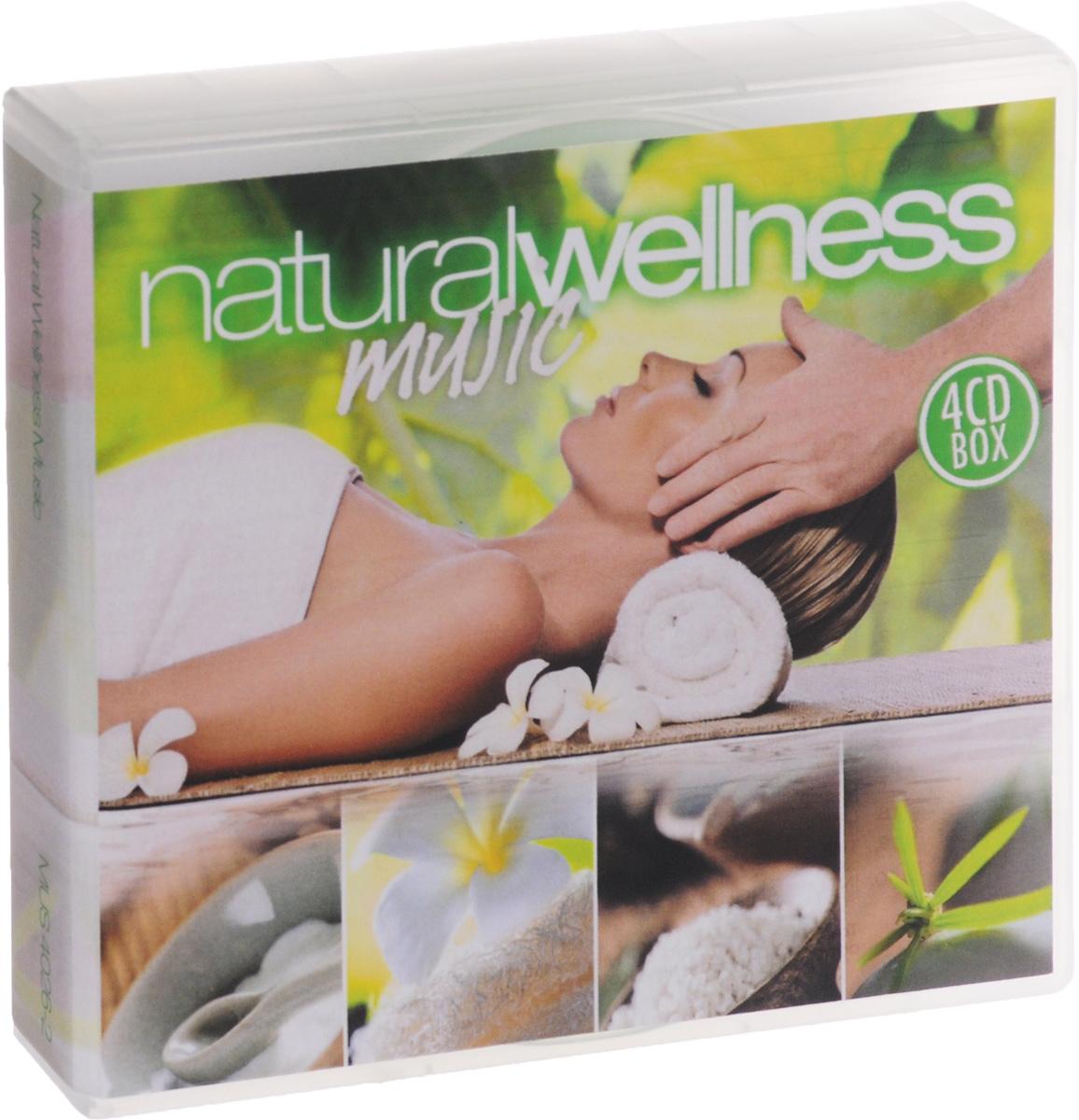 Wellness Dreams Orchestra Natural Wellness Music (4 CD)