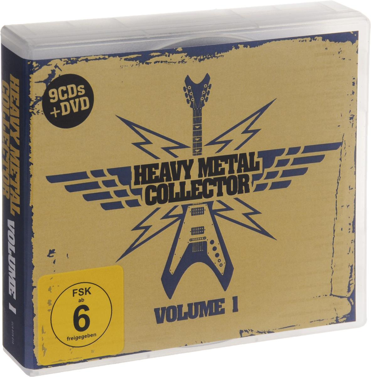 """The Casanovas"",""Circle Of Pain"",Passionworks,""Vacuum"",""Mokoma"",""Manzana"",""The Voltas"",Torch,""I-Remain"" Heavy Metal Collector. Volume 1 (9 CD + DVD)"