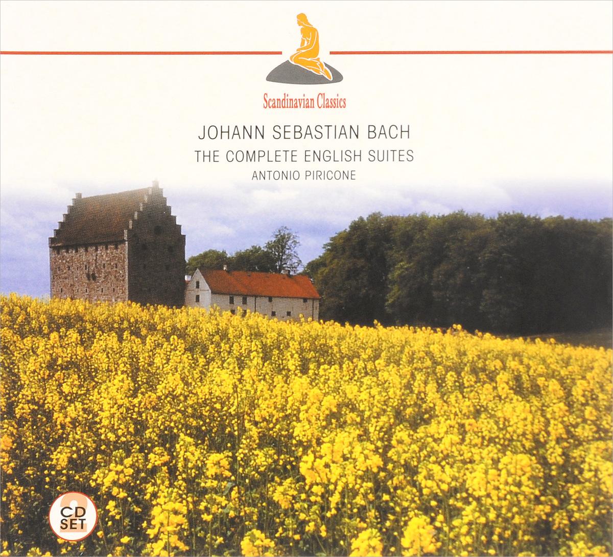 Antonio Piricone Scandinavian Classics. Antonio Piricone. Johann Sebastian Bach. The Complete English Suites (2 CD)