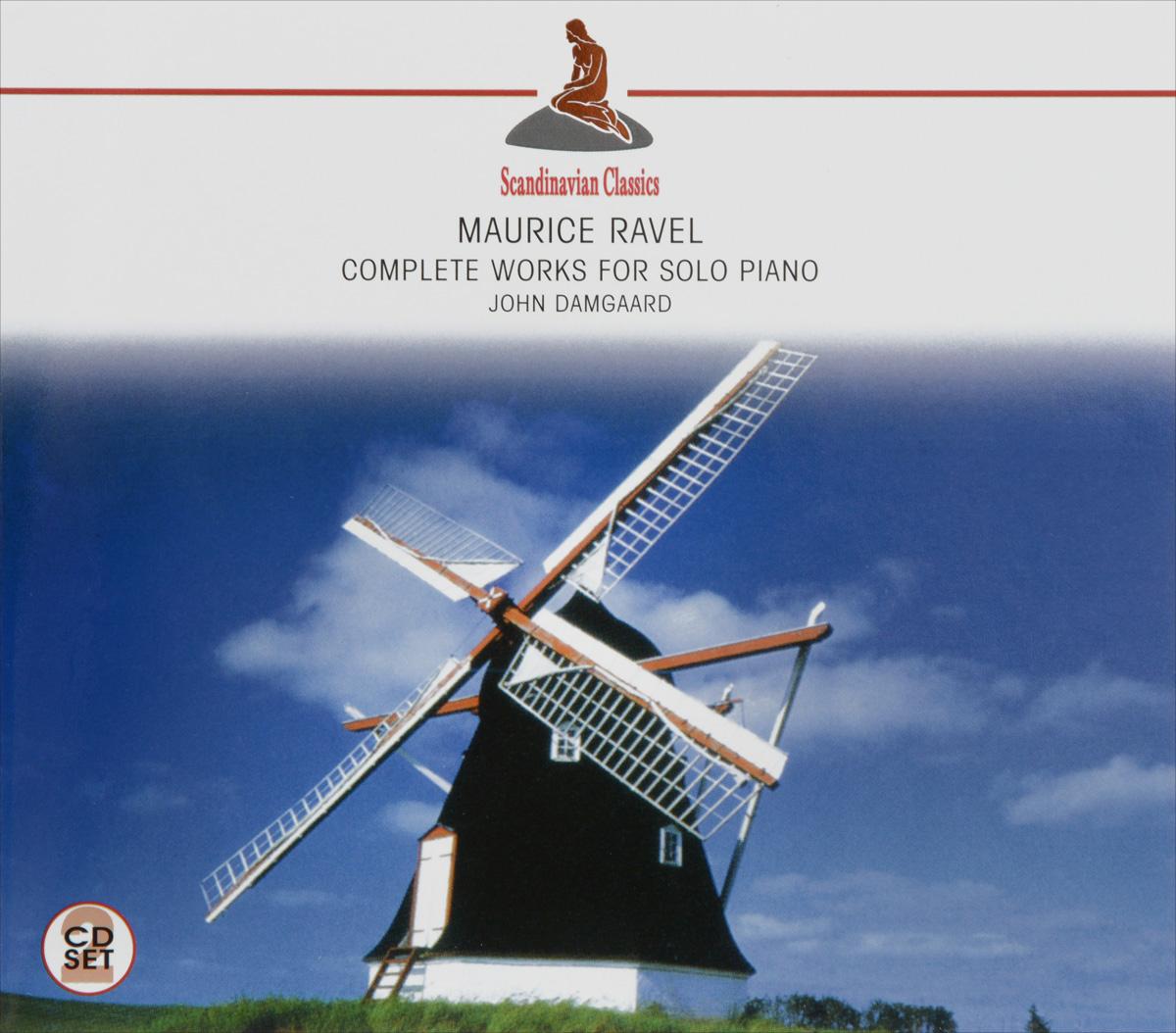 John Damgaard Scandinavian Classics. John Damgaard. Maurice Ravel. Complete Works For Solo Piano (2 CD)
