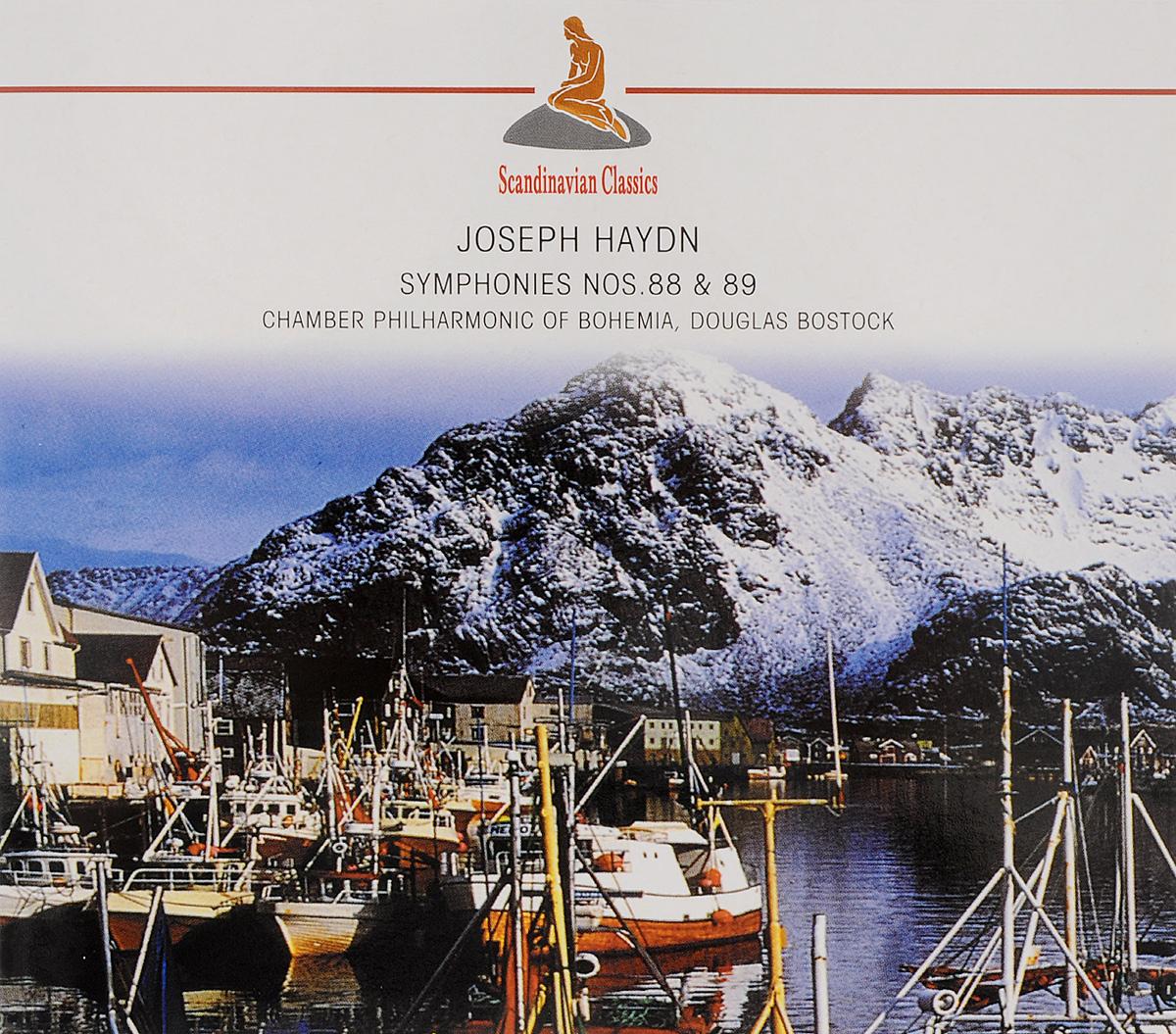 Дуглас Босток,Chamber Philharmonic Of Bohemia Scandinavian Classics. Douglas Bostock, Chamber Philharmonic Of Bohemia. Joseph Haydn. Symphonies Nos. 88 & 89