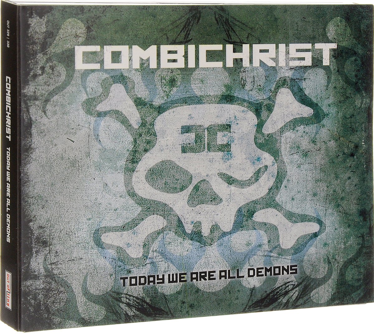 """""""Combichrist"""" Combichrist. Today We Are All Demons. Deluxe Edition (2 CD)"""