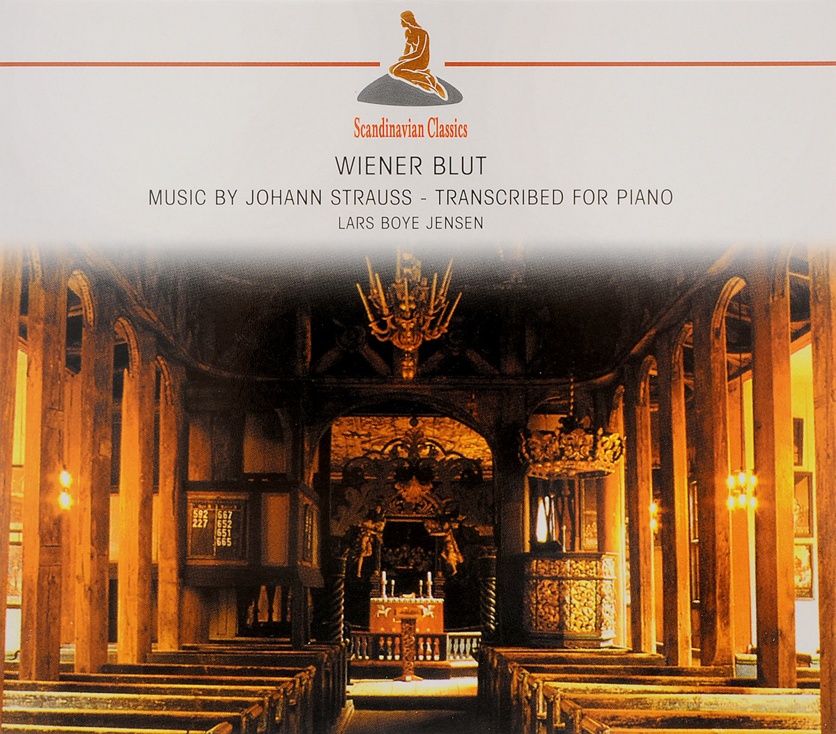 Ларс Бойе Йенсен Wiener Blut. Music By Johann Strauss - Transcribed For Piano