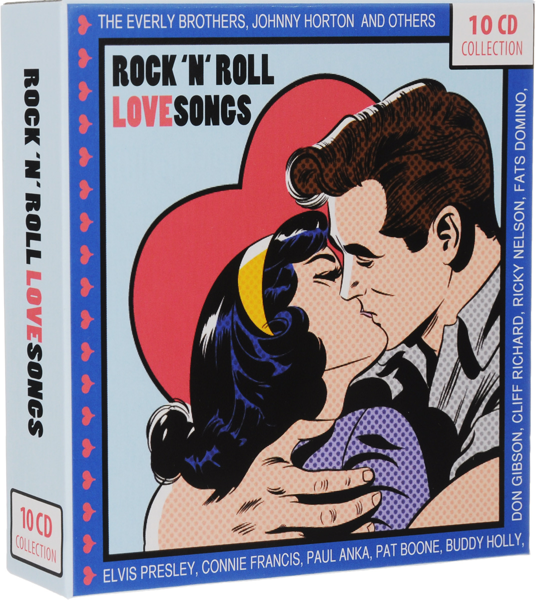 Rock 'N' Roll Love Songs (10 CD) все цены