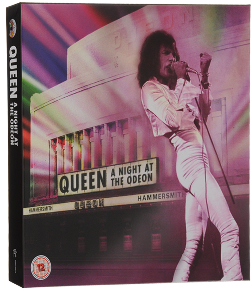 """Queen"" Queen. A Night At The Odeon. Anniversary Limited Edition (CD + LP + DVD + Blu-ray)"