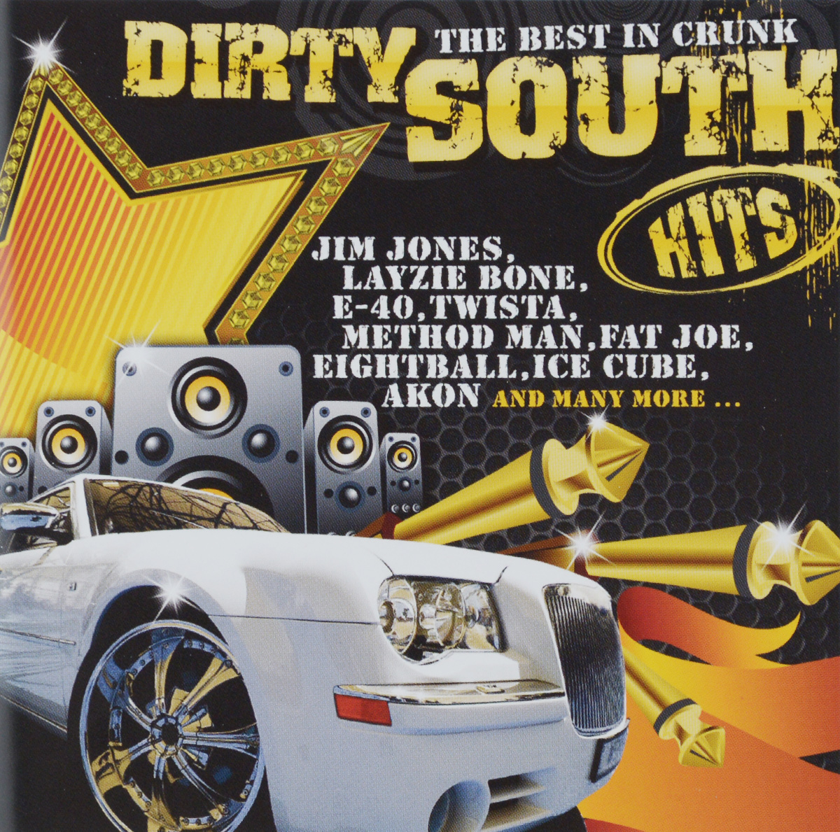 40 Cal Dirty South Hits. The Best In Crunk (2 CD) the best in hardtechno update 7 0 3 cd