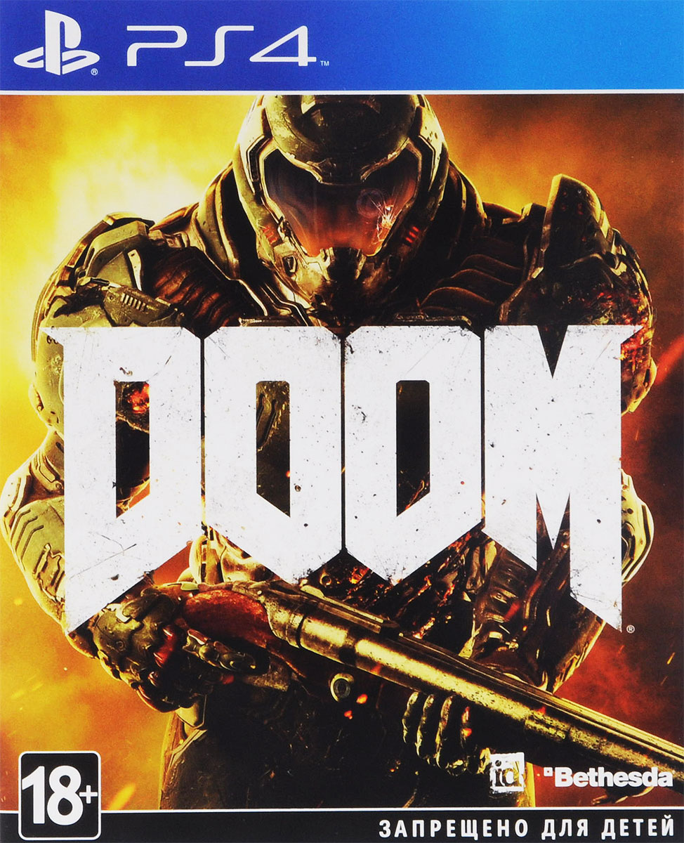 DOOM (PS4) doom игра для ps4