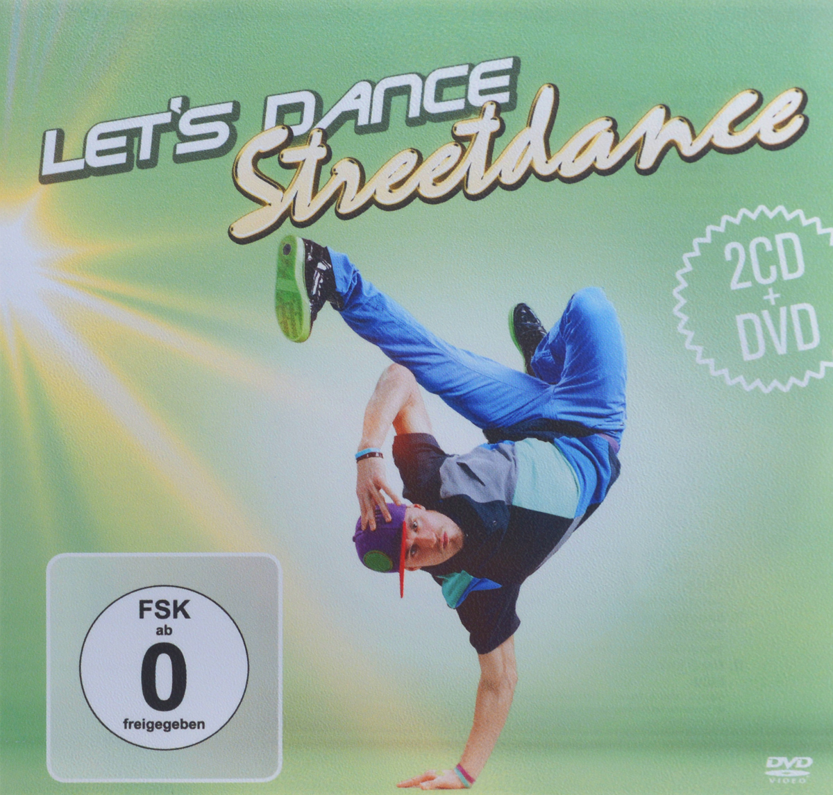 Let's Dance. Streetdance (2 CD + DVD)