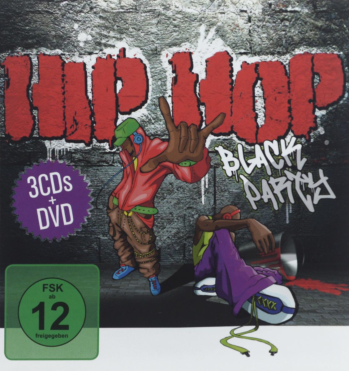 "Coolio,Эминем,J-Black,Masta Ace,Steele,Mista Cheeks,Cocoa Brovas,Tomorrow's Weapons,GHG,Illa Noize,Royal Flush,151-Ron Bacardi,Rah Bump,Big Daddy Kane,Грег Мак,Master Fuol,""Das Efx"",Mr. Raw,Deacon Da Villain,Heltah Skeltah,""KRS-One"",Infamous Mobb,""The Prodigy"" Hip Hop Black Party (3 CD + DVD)"