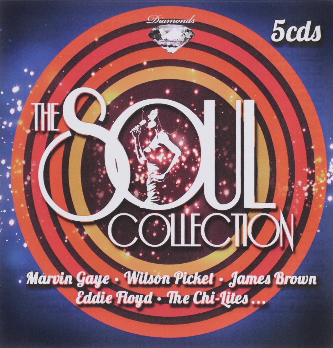 Марвин Гэй,Уилсон Пиккетт,Джеймс Браун,Эдди Флойд,The Chi-Lites Diamonds. The Soul Collection (5 CD) цена