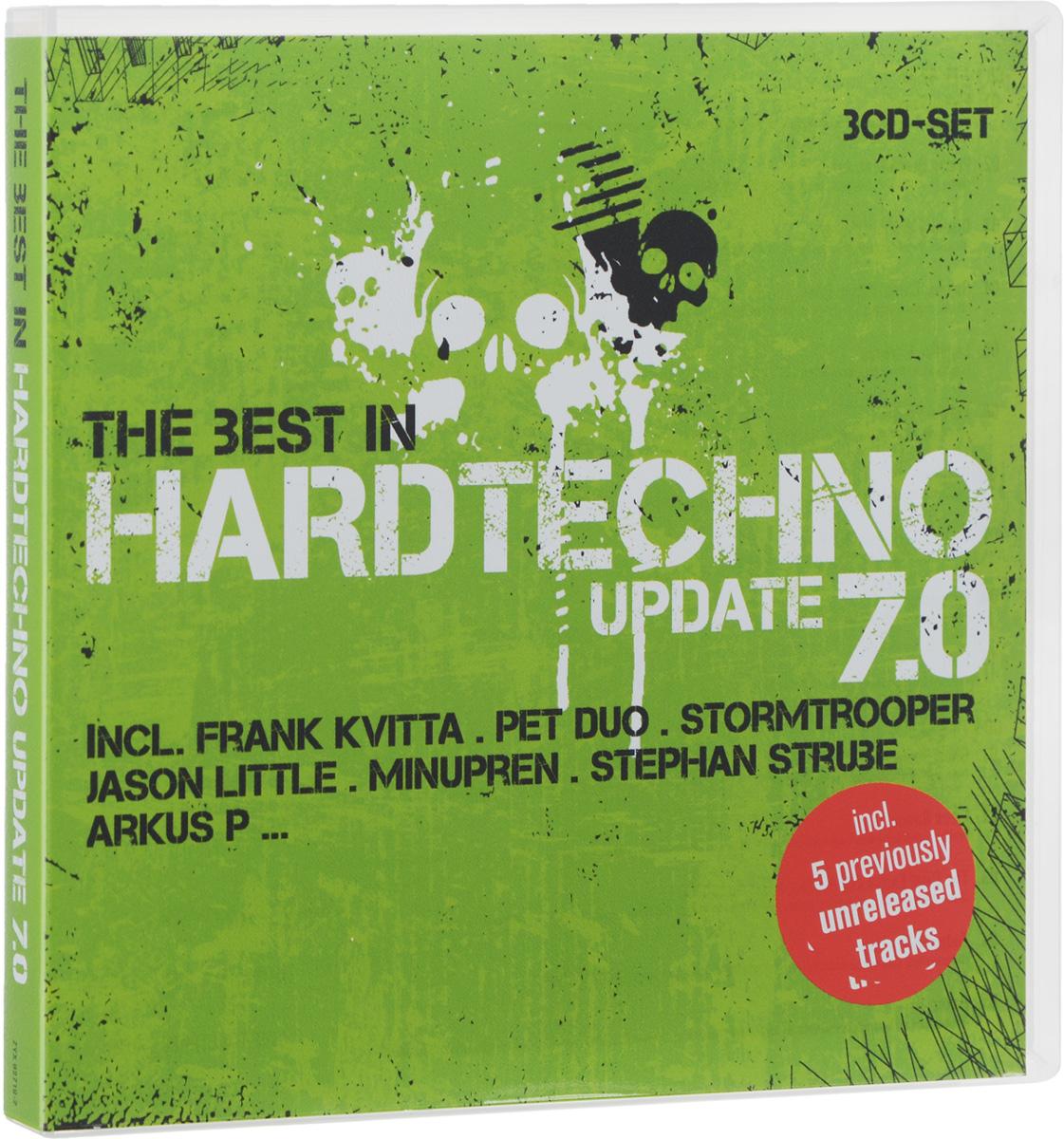 The Best In Hardtechno. Update 7.0 (3 CD) the best in hardtechno update 7 0 3 cd