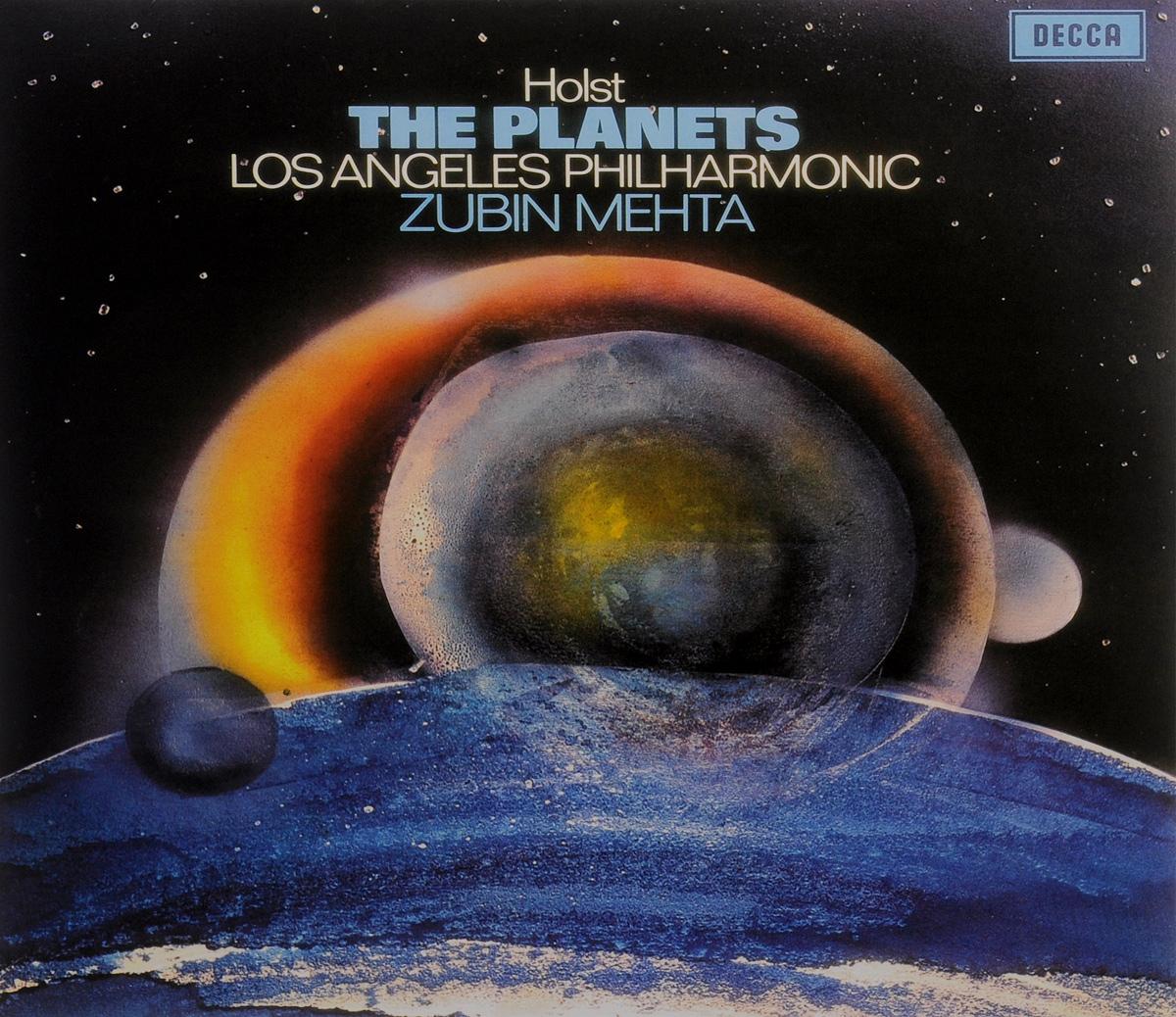 Los Angeles Philharmonic Orchestra Gustav Holst, Los Angeles Philharmonic Orchestra, Zubin Mehta. The Planets (LP) bso silverstein holst planets strauss zarathus