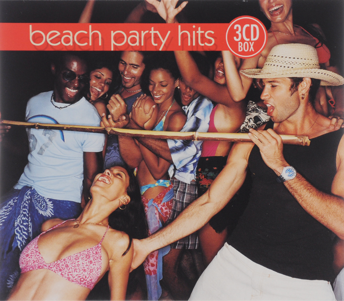 "Тина Чарльз,""The Blue Chips"",Tricky Girls,""Jump & Joy!"",3t,""Karmah"",In-Grid,""Carrilio"",Франческо Наполи,""Beach Bumpers"",""Inner Feeling"",Дженнифер Лопес,Марсель Романов,""Activate"",`CoColoCo`,Марга Дредд,""TNN"",""24th Street"",`Los Piranas`,""Sunflash"",Da Copa Kids,Reggae-Esque,Justine Earp,Уолтер Нита,Джесси Грин Beach Party Hits (3 CD)"
