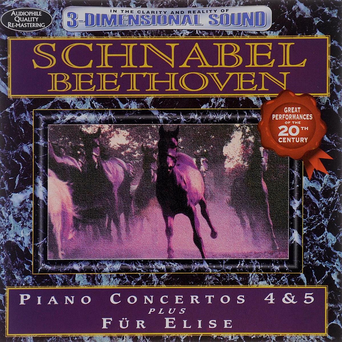 Артур Шнабель Avid Master Series. Artur Schnabel. Beethoven. Piano Concertos 4 & 5 / Fur Elise