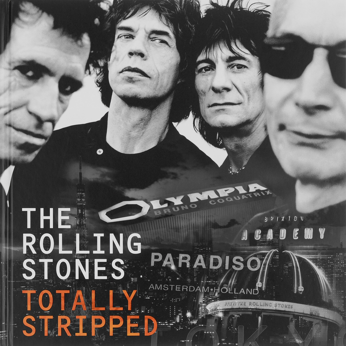 """""""The Rolling Stones"""" The Rolling Stones. The Totally Stripped. Deluxe Edition (CD + 4 DVD)"""