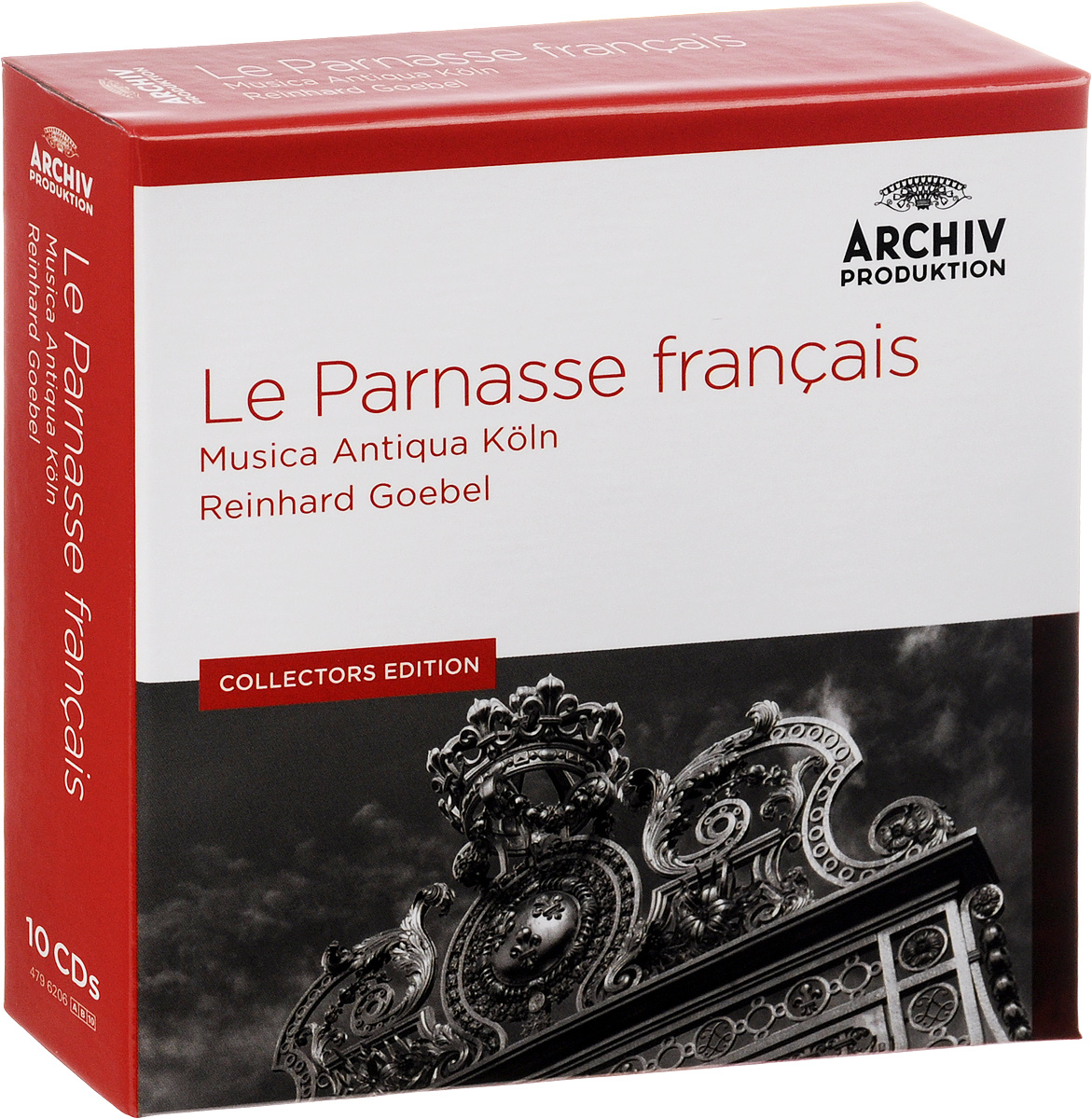 Рейнхард Гебель,Musica Antiqua Koln Orchestra Reinhard Goebel, Musica Antiqua Koln. Le Parnasse Francais. Collectors Edition (10 CD)