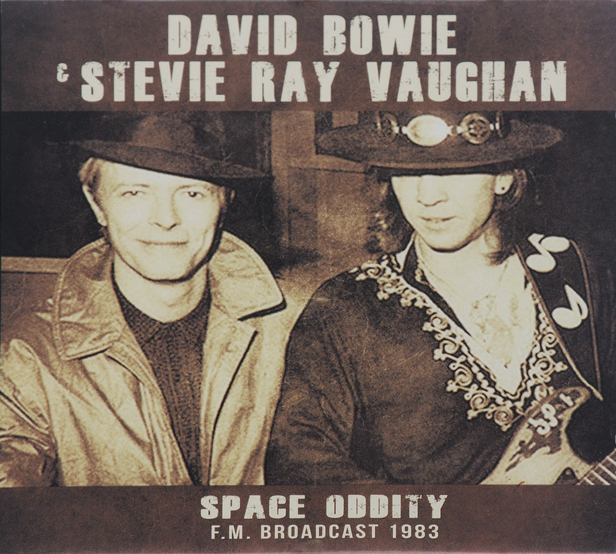 Дэвид Боуи,Стиви Рэй Воэн David Bowie & Stevie Ray Vaughan. Space Oddity F.M. Broadcast 1983