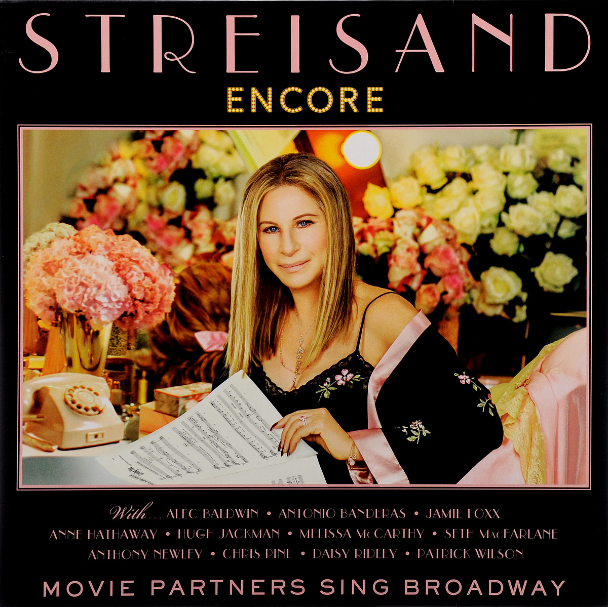 Барбра Стрейзанд Barbra Streisand. Encore: Movie Partners Sing Broadway (LP) barbra streisand barbra streisand partners 2 lp cd