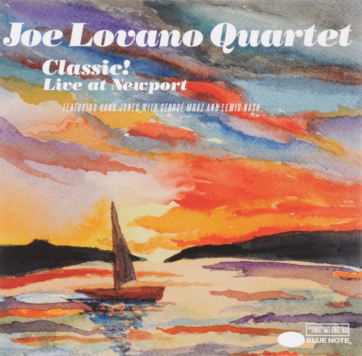 """""""Joe Lovano Quartets"""" Joe Lovano Quartet. Classic. Live At Newport"""